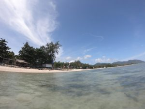 パンガンビーチ
