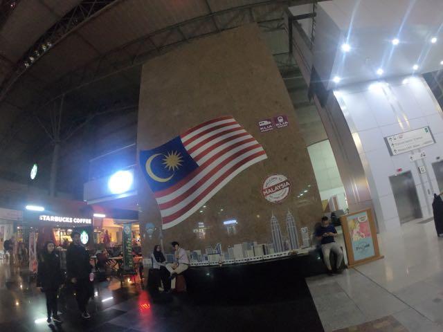 1カ国目マレーシア