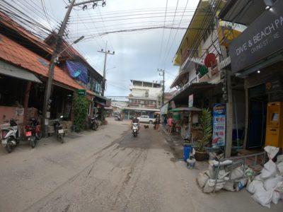 タオ島の町