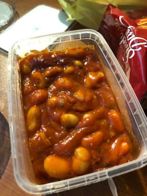 トマトの豆煮