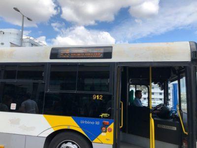 空港行きバス